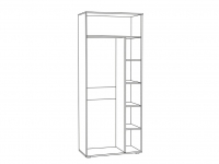 Шкаф для одежды Бьянка 1751