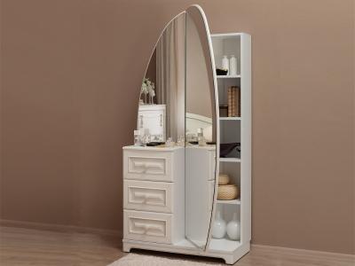 Шкаф комбинированный с зеркалом Белла