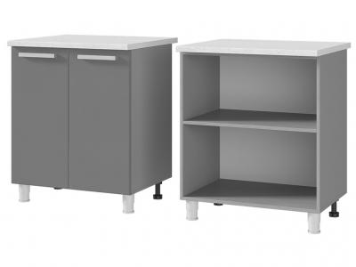 Шкаф-стол рабочий 2-дверный 700х820х600 7Р1 БТС МДФ