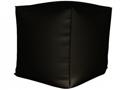 Пуфик Куб мини нейлон черный