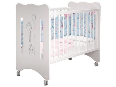 Кроватка детская Руслана базовая Жирафик с ящиком