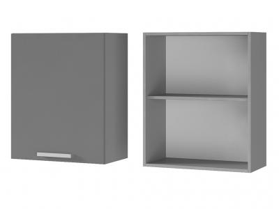Шкаф настенный 1-дверный 600х720х310 6В1 БТС МДФ