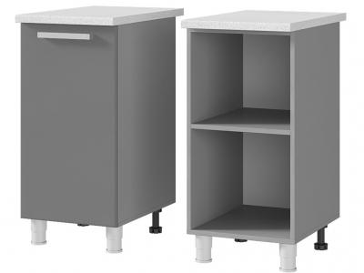 Шкаф-стол рабочий 1-дверный 400х820х600 4Р1 БТС МДФ