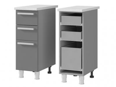 Шкаф-стол с 3-мя ящиками 300х820х600 3Р3 БТС МДФ