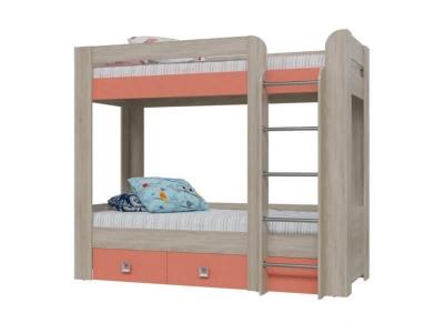Двухъярусная кровать Сити Коралл 4-2002