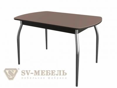 Стол-рабочий обеденный раздвижной № 2 Дуб Венге/Шоколад