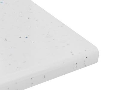 Столешница постформинг толщиной 40 мм (Белая Искра Глянец)