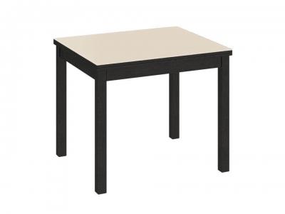 Стол обеденный раздвижной со стеклом Диез Т5 С-346 Венге, Дуб Миланский, матовый
